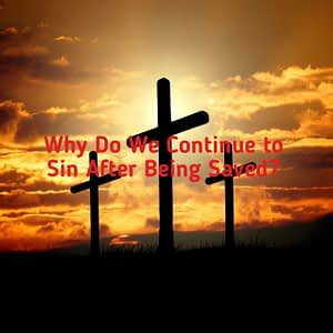 Why do we continue to sin after being saved?