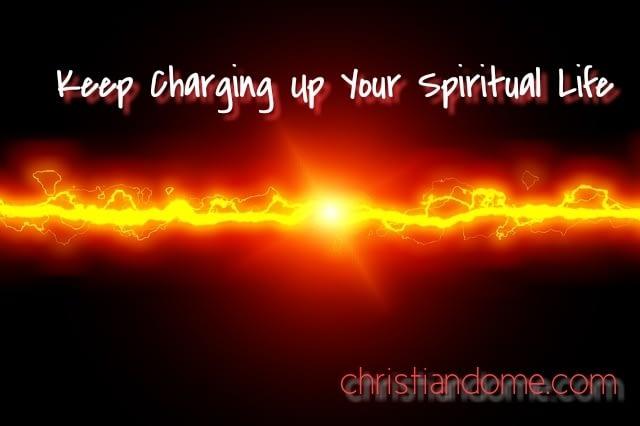 Spiritual violence Keep Charging Up